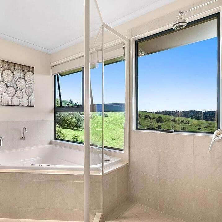 Accommodation Spa Bath With View