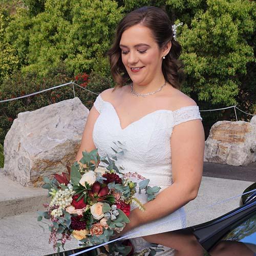 Romantic Getaway Bride Sunshine Coast
